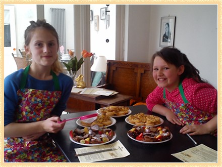 Cooking classes for kids and students