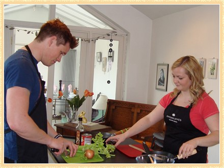 Group cooking lessons in County Durham